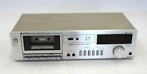 SHARP Optonica RT-3300 Stereo Cassette Deck - Silver - T17