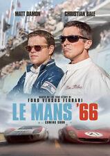 LE MANS '66 2019 Ford v Ferrari – Movie Cinema Poster Art, British - NOT DVD