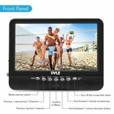 Pyle Pltv9553 - 9� Portable Tv Tuner Monitor Display Screen with Built-in