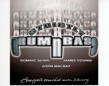 CD DOMINIC GLYNN / JAMES YOUNG / JUSTIN MACKAYstricktly drum n bassEX- (R1761)