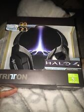 Halo 4 Tritton Trigger Black Stereo Headset Brand New/Sealed - Rare