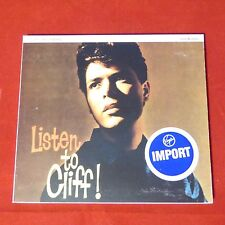 CD Listen to Cliff Cliff Richard Made in England IMPORT 7243 4 95441 2 3