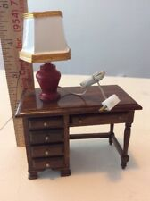 VINTAGE Miniature lite shade  Doll House   electrified
