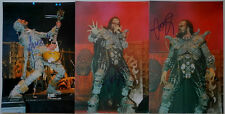 LORDI 3 x SIGNED / AUTOGRAPHED 8 x 12 INCH PHOTO ** BOX4