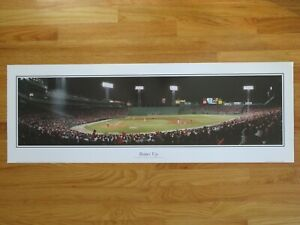 1980's BOSTON RED SOX vs NEW YORK YANKEES Batter Up FENWAY PARK Panoramic Poster