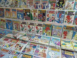 220+ Harvey Comic Runs Lot Bronze 1970s to 90s Richie Rich Casper Ghost Cartoon