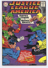 Justice League of America 56  VG/FN