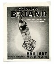 1940 / Publicité pour COGNAC BRIAND / Alcool / FRLD122