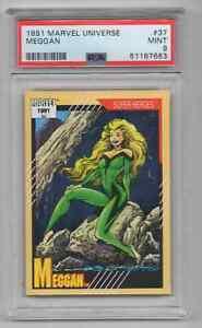 1991 Marvel Universe #37 Meggan  - PSA 9 MINT - NEWLY GRADED (Z3)