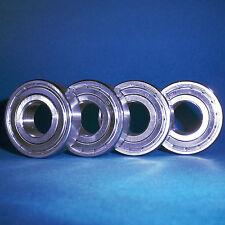 4 Kugellager 6302 ZZ / 15 x 42 x 13 mm
