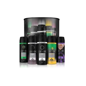 5 Fragrances Mens Lynx Gift Collection Deo Body Spray 165ml Fresh All Day