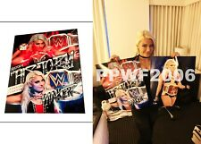 Wwe Alexa Bliss 16X20 Hand Signed Autographed Photo With Pic Proof And Coa Ab1