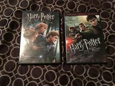 HARRY POTTER AND THE DEATHLY HALLOWS PARTS 1 & 2, DVD