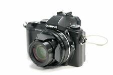 Olympus Stylus 1 12.0MP Digitalkamera - Schwarz (Kit mit Nur Gehäuse Objektiv)