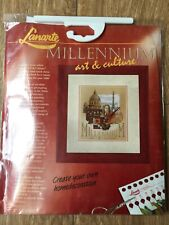 Lanarte DMC Thread Millennium Art & Culture Counted Cross Stitch Kit 23 x 27 cm