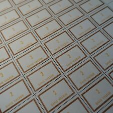 FEUILLE SHEET FRANCE TIMBRE FICTIF N°183 x50 1969 NEUF LUXE ** MNH