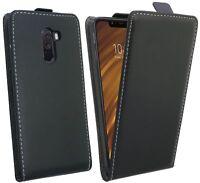 Handytasche für Xiaomi PocoPhone F1 Cover Hülle Zubehör Flip Tasche Schwarz