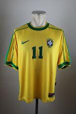 Brasilien 1998-2000 Trikot Gr. M #11 Rivaldo Nike Jersey 90s Brazil CBF Brasil