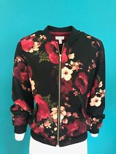 Susan Graver Ladies Floral Jacket - UK Size Medium