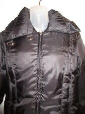 Bebe Sport BBSP L Jacket Logo Black Down Feather Puffer Winter Outdoor Warm CHIC