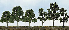 """JTT Scenery N to HO Scale Deciduous Trees - 40/Pack  * 2.5"""" - 4.5"""" Tall *"""