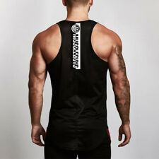 Men's Fitness Undershirts Quick Dry Breathable Bodybuilding Tank Tops Clothes