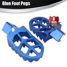 WIDE FOOT PEGS For Suzuki RMX250 DRZ400 RM125 Kawasaki Dirt Bike KLX400R KX500