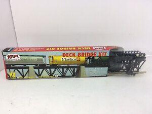 Atlas HO Scale Deck Bridge Kit 884 Nickel Silver NOS