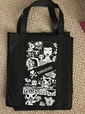 SDCC 2016 Comic Con Exclusive TOKIDOKI Reusable Tote Bag Black and White