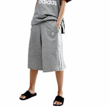 adidas Originals Women's 3-Stripe Culottes Shorts Wide Leg Pants XS S AY6708