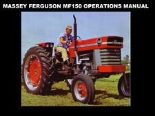 MASSEY FERGUSON MF-150 OPERATIONS MAINTENANCE MANUAL w Tractor Service & Repair