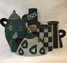 "New ListingKazuko Matthews Ceramics ""Tea Set"" Stoneware Pottery (5 Pc)"