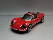 1969 69 Alfa Romeo 33 Stradale Collectible Rare 1/64 Scale Diecast Diorama Model