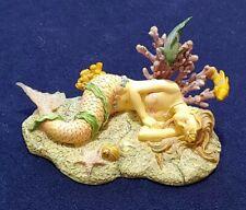 "Syrens of the Sea ""Lydia"" Sleeping Mermaid Figurine (Rare)"