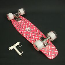 """Skateboard Maple timber 22""""x 6"""" Neon Pink Deck + FREE T Tool CLEARANCE SALE"""