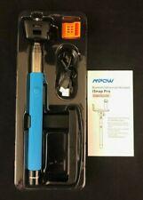 MPOW iSNAP PRO 2-In-1 Self-Portrait Monopod Selfie Stick Bluetooth Blue NEW