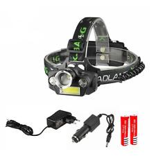 TORCIA LED FRONTALE LUCE LAMPADA RICARICABILE X-BALOG BL-T44