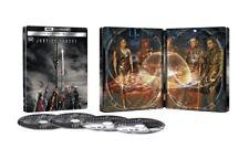 Justice League-Snyder Cut Steelbook (4K UHD+ Blu-ray+Digital) Sealed PRE-ORDER