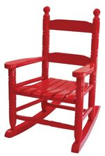 New Holidaybasix Kn-10R Wooden Classic Child's Porch Rocker Red Chair 8786188
