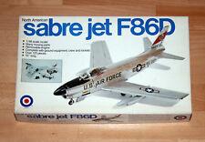1:48 ENTEX 9009 F-86D North American Sabre Jet Decals U.S.A.F. vintage 1975