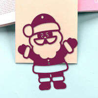 Christmas Santa Claus Metal Cutting Dies DIY Paper Craft Template Xmas Cards Die