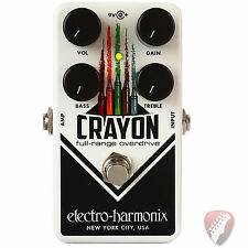 New! Electro-Harmonix EHX Crayon 69 Full-Range Overdrive Effects Pedal