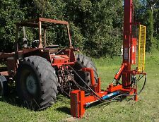FARMFORCE post drivers SIDE SHIFT fence hole HYDRAULIC digger auger FENCING