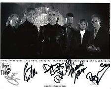 Three Dog Night x6 signed original promo photo / autograph 8x10