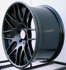 """18"""" Black CSL Style Wheels Rims Fit BMW Z3 Z4"""