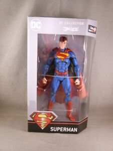 """DC Collection by Jim Lee Cell Shaded Superman Comic 6"""" Figure Gamestop Exclusive"""