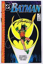 Batman #442 1st App Tim Drake as Robin Signed w/COA George Perez VF/NM 1989 DC