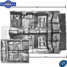 64-67 GM A-Body Interior Full Floor Pan 1-Piece with Inner Rocker & Braces - Dii