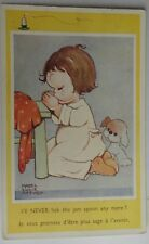 "ORIGINAL MABEL LUCIE ATTWELL POSTCARD 1498  ""I'LL NEVER LICK THE JAM SPOON"""