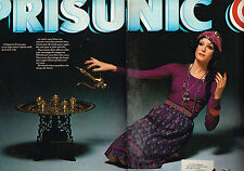 PUBLICITE ADVERTISING 074  1976  MAGASINS PRISUNIC   ( 2 pages)